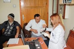 Belediye Personeli Sağlık Taramasından Geçirildi