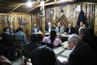 Özden, Muhsin Yazıcıoğlu Mahallesinde halk toplantısı düzenledi