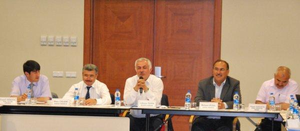 Çubuk Belediyesi Nevşehir de Toplantı Yaptı