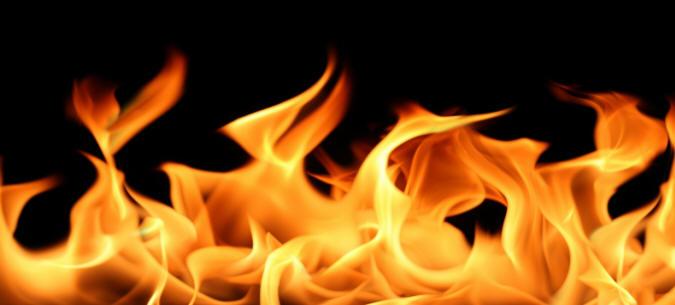 Huzurevinde yangın paniği