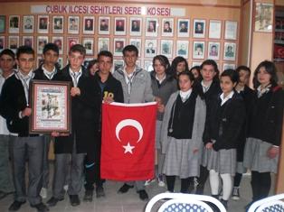 Öğrenciler, Terör Mağdurları Derneğini Ziyaret Etti