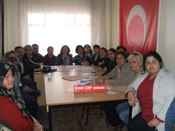 CHP İl Kadın Kolları Seçim Startını Çubukta Verdi