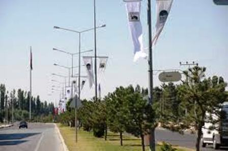 Çubuk-Ankara Yolu aydınlandı