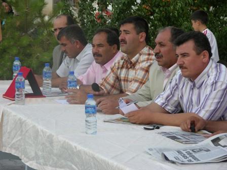 Barbarosta Halk Toplantısı.
