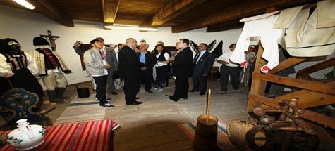 Sabınov'da Huzurevi Ziyareti, Müze Açılışı
