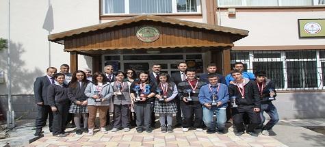Okullar Arası Masa Tenisi Turnuvası Yapıldı