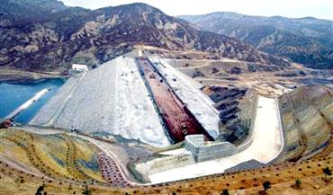 14 ayda yapılan barajın inşaatı bitti