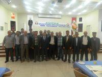 Çubuk Muhtarlar Derneği Başkanlığına Burhan Şan seçildi