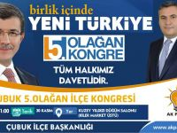 Çubuk Ak Parti İlçe Başkanı Demirbaş'dan Kongreye Davet