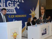 Ak Parti Çubuk İlçe Başkanı Demirbaş, Güven Tazeledi