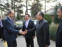 Ankara Valisi Kılıçlar, Başkan Acehan'ı Makamında Ziyaret Etti