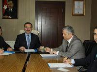 """Çubuk'ta """"Bir Nefes Sıhhat Projesi Protokolü"""" imzalandı"""