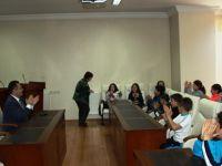 Başkan Acehan öğrencilerle bir araya geldi
