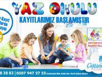 3-17 Yaş Çocuklar İçin Yaz Okulu Kayıtları Başladı