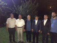 Başbakan Davutoğlu, Çubuk'u ziyaret etti