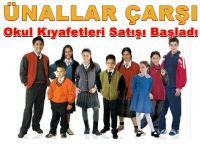 Ünallar Çarşı'da Okul Kıyafetleri Satışı Başladı