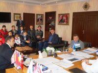 Sporculardan Başkan Acehan'a ziyaret