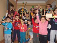 Çiğtanem Öğrencileri Kendi Oyuncaklarını Kendileri Yaptı