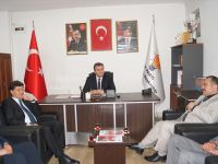 AK Parti İl Başkanı Yamalı, Çubuk'u ziyaret etti