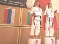 Avrasya şampiyonasında kürsüye çıktılar