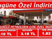 Türkoğlu Petrolden Bugüne Özel İndirim!