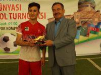 Ahmet Yesevi Anısına Futbol Turnuvası Düzenlendi