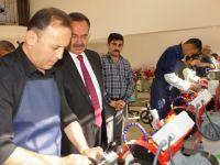 Başkan Acehan, Agat Taşı İşlemeciliği atölyesini inceledi