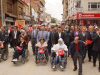 Engelliler için 'Empati yürüyüşü' yapıldı