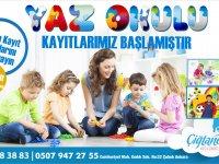 Çiğtanem Yaz Okulu başlıyor!