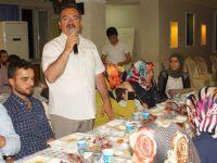Başkan Acehan, şehit aileleri ve gazilerle iftarda buluştu