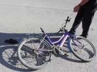 Minibüsün Çarptığı Bisiklet Süren Çocuk Yaralandı