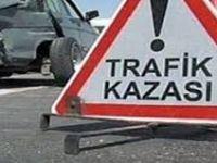 Kamyon Otomobile Çarptı Açıklaması 1 Yaralı