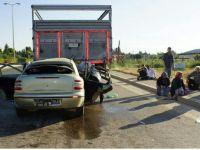 Trafik kazası ; Aynı Aileden 3 Ölü 1 Yaralı