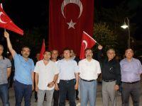 Atatürk Parkı'nda Demokrasi Nöbeti Deva Ediyor