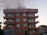 Çubuk'ta Ev Yangını