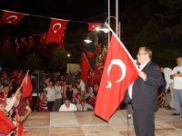 """Çubuk'ta """"Demokrasi ve Milli İradeye Saygı Mitingi"""""""