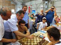 2. Uluslararası Çubuk Belediyesi Açık Satranç Turnuvası Başladı