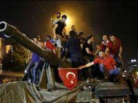 Çubuk'ta 15 Temmuz Şehitlerine Saygı Yürüyüşü