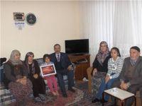 Çubuk'ta Şehit Çam'ın Ailesine Ziyaret