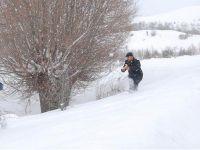 Çubuk'ta kış