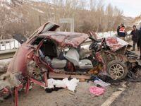 Çubuk'ta zincirleme kaza: 3 ölü, 3 yaralı