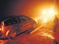 Çubuk'ta kaza: 4 yaralı