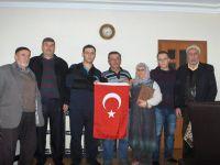EL-BAB GAZİSİ SAMET ARSLAN'A GEÇMİŞ OLSUN ZİYARETİ