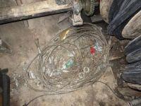 Çubuk'ta Kablo Hırsızlığı Operasyonu