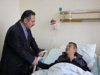Başkan Acehan, Halil Şıvgın Çubuk Devlet Hastanesini ziyaret etti.