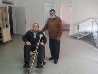 105 yaşında spor yapıyor