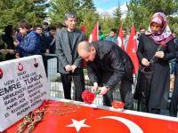 Şehit Tunca Mezarı Başında Anıldı