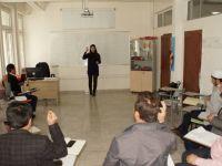 Çubuk'ta din görevlileri işaret dili öğreniyor