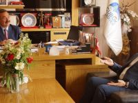 Ankara Milletvekili Vedat Bilgin'den Başkan Acehan'a ziyaret