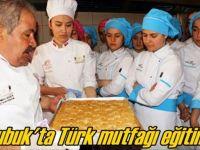 Çubuk'ta 'Türk Mutfağı Ve Tatlıları' Eğitimi Verildi
